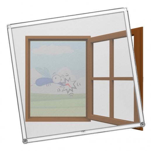 MückeNIX Fliegengitterrahmen für Holzfenster